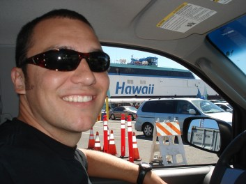 getting on the Hawaii Superferry