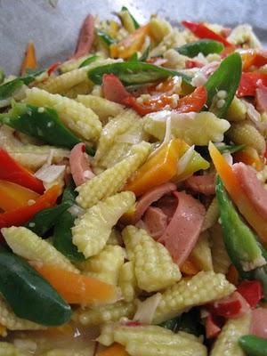 Tumis Jagung Muda : tumis, jagung, Resep, Makanan, Minuman:, Tumis, Jagung