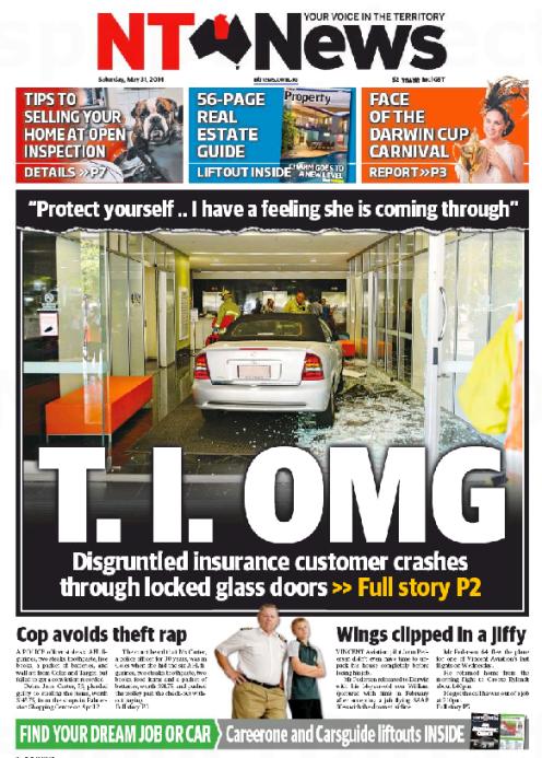 นสพ. TN News เสนอข่าวลูกค้าประกันภัยขับรถพุ่งเข้าชนบริษัทประกัน TIO