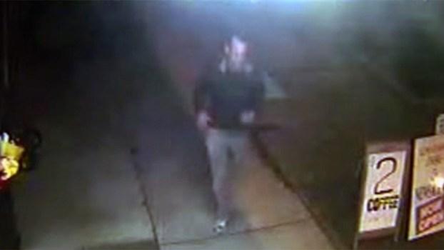 ภาพชายคนร้ายที่ถูกบันทึกจากกล้อง CCTV