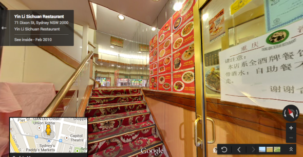 ร้านอาหารจีน Yin Li Sichuan จาก Google map ถูกกล่าวหาเสนอขายอาหารสองมาตรฐาน