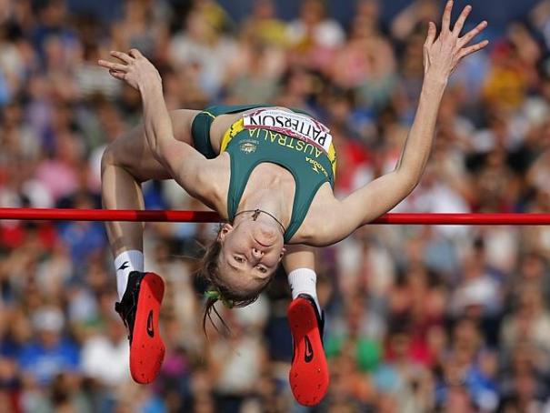 ลีลาการกระโดดสูงของสาวน้อย Eleanor Patterson