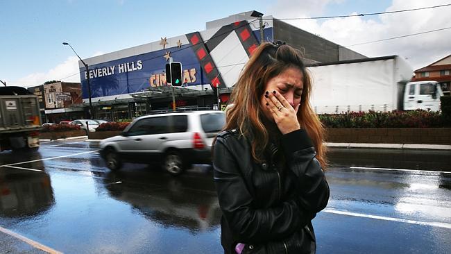 Merlyn ตรงบริเวณถนน King Georges Rd. ย่าน Beverly Hills ที่เธอถูกชาวผิวดำพยายามฉุด (เข้าใจว่า) เพื่อข่มขืน ภาพจากสนพ. the Telegraph