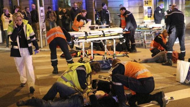 เหตุการณ์ก่อการร้ายใช้รถพุ่งชนฝูงชนในฝรั่งเศส