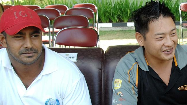 นาย Myuran Sukumaran และนาย Andrew Chan