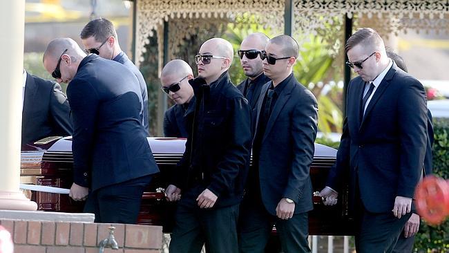 พิธีฝังศพนาย Jamie Sananikone ที่ Leppington Lawn Cemetery เมื่อวันเสาร์ที่ 23 พฤศภสคมที่ผ่านมา
