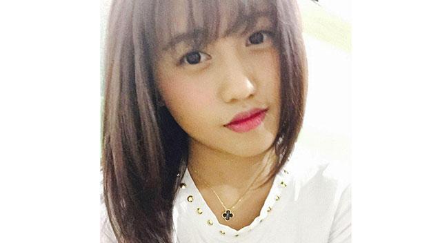 น.ส. Jia Xin Lee หรือ Christine Lee : ภาพจากเฟสบุ๊ค