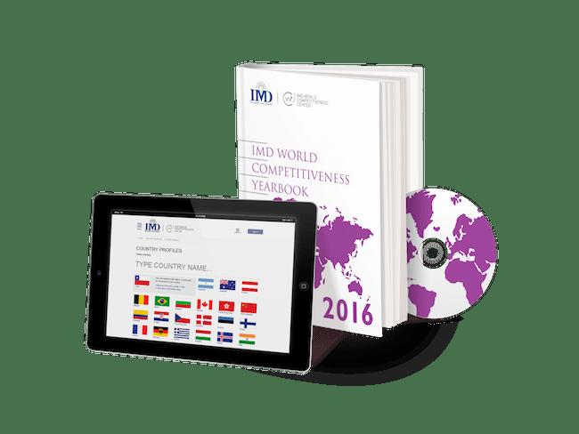 รายงานชุด 2016 IMD World Competitiveness Yearbook : ภาพจาก worldcompetitiveness.imd.com