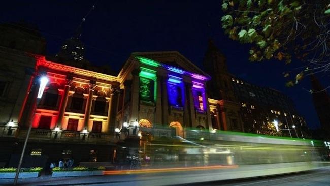 เมลเบิร์น Town Hall : ภาพจากสำนักข่าว ABC