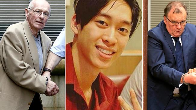 จากซ้ายไปขวานาย Roger Rogerson, นาย Jamie Gao และนาย Glen McNamara : ภาพจากนสพ. the Australian