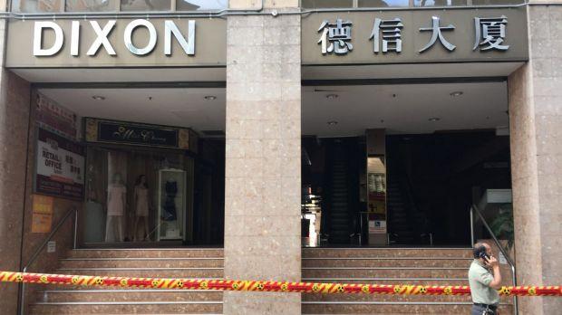 อาคารศูนย์การค้า Dixon ยังคงปิดตายในวันที่ 1 ธันวาคม : ภาพจากนสพ. The SMH