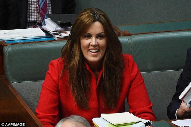 นาง Peta Credlin อดีตหัวหน้าทีมเจ้าหน้าที่ที่ปรึกษาของนาย Tony Abbott อดีตนายกรัฐมนตรี : ภาพจากสำนักข่าว AAP