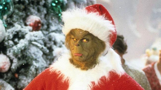ตัว Grinch ที่พรรคกรีนส์นำขึ้นมาต่อกรกับ Santa Claus และใช้คำว่า End of Year Party แทนคำว่า Christmas Party : ภาพจากนสพ. The Telegraph