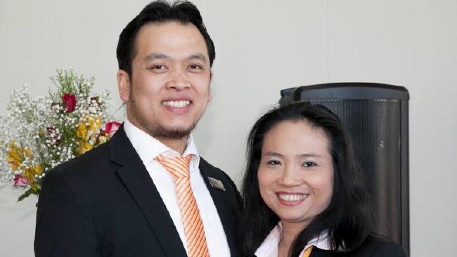 นาย Joseph Ngo และนาง Judy Nguyen ผู้ถูกตั้งข้อหากระทำผิดต่อพรบ.ตัวแทน อสังหาริมทรัพย์ : ภาพจากนสพ. Herald Sun