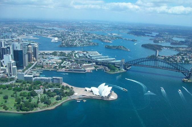 อ่าวซิดนีย์ : ภาพจาก tripadvisor.com.au ไม่ทราบต้นฉบับ