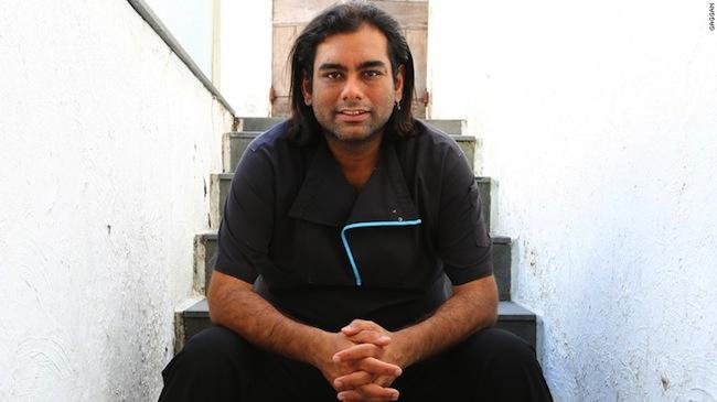 นาย Gaggan Anand เจ้าของร้านอาหาร Gaggan : ภาพจากสำนักข่าว CNN