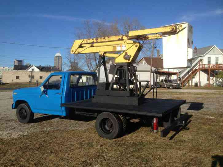 1980 Ford Bucket Truck
