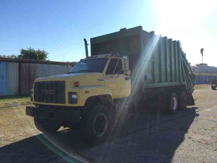Gmc Topkick Garbage Truck 1995 Heavy Duty Trucks
