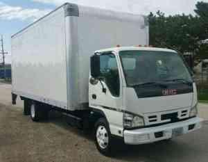 GMC Isuzu NPR W3500 W4500 NQR (2007) : Van  Box Trucks