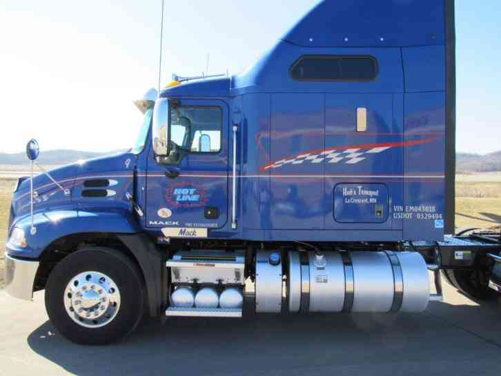 Mack Pinnacle Sleeper Semi Trucks