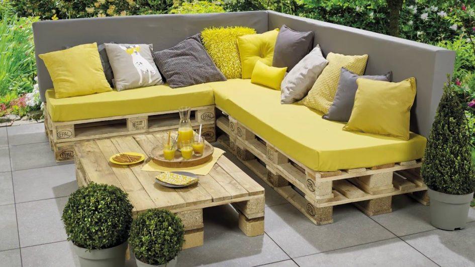 Faire Son Salon De Jardin En Palette   Comment Realiser ...