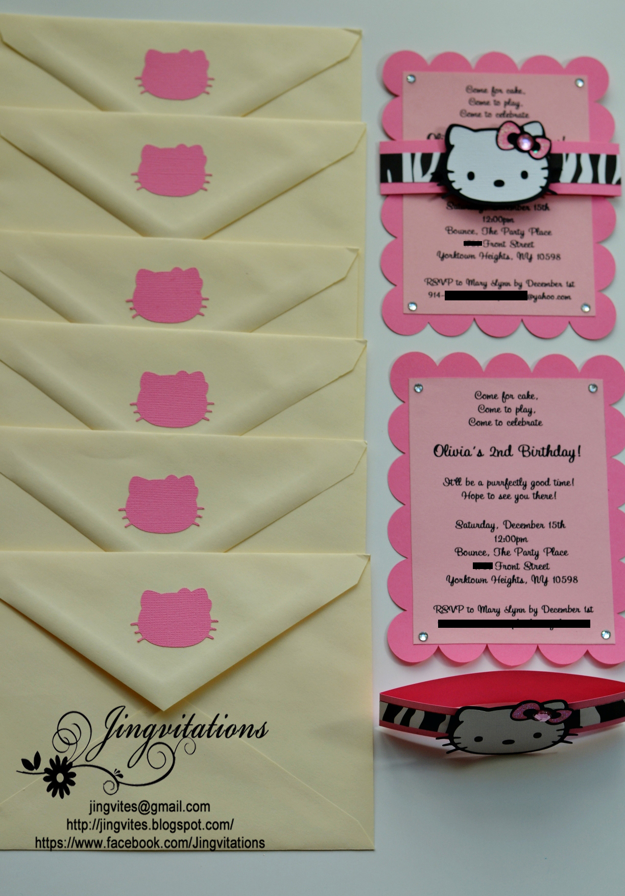 Hello Kitty Safari Invitations Jingvitations