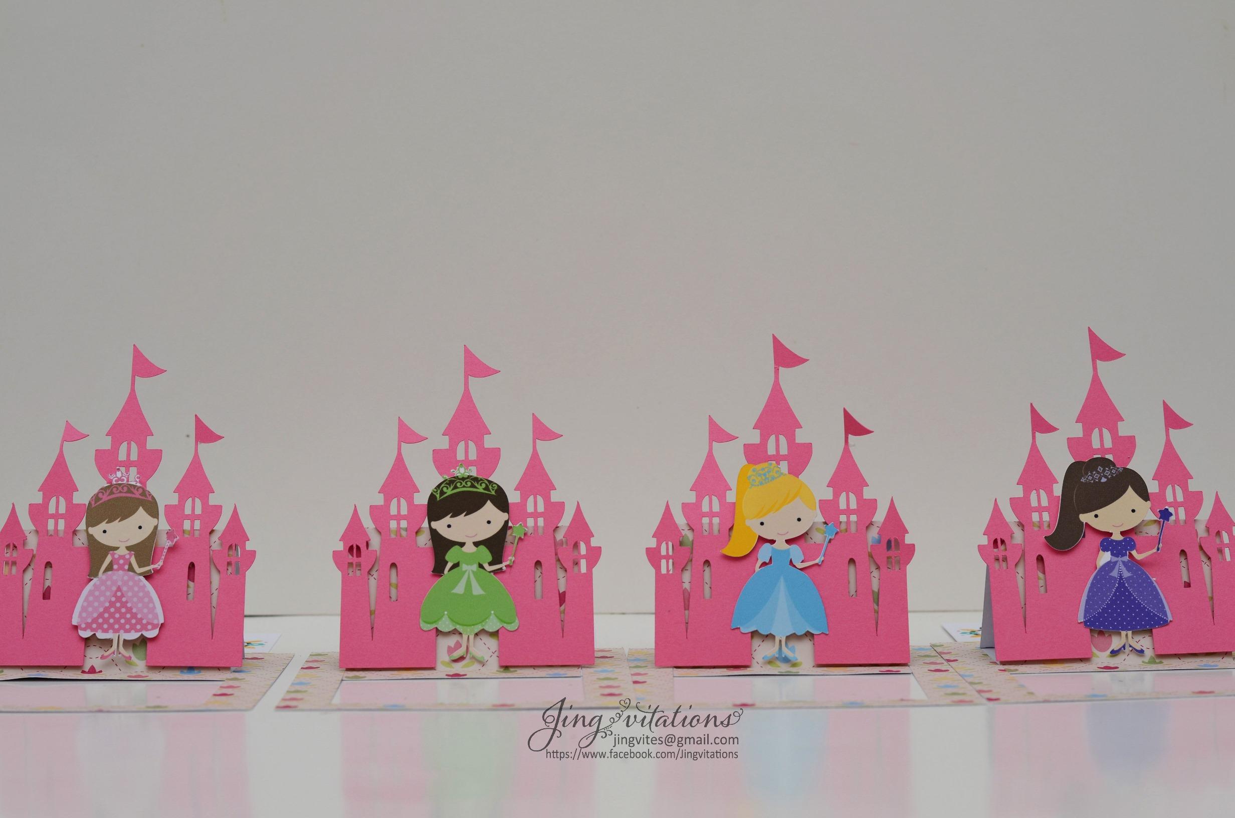 Castle Jingvitations