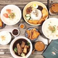 台北、信義美食|湖裡有魚.台北吃馬來西亞魚頭米粉,阿嬤琺瑯碟杯及紹興酒淡奶厚魚湯,遠百信義A13美食、市政府美食
