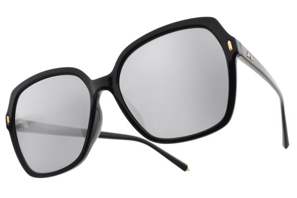 MOLSION 水銀太陽眼鏡 MS5017 B11 (黑-淡白水銀灰鏡片) Angelababy代言摩登大框款 水銀墨鏡 #眼鏡品牌 - 金橘眼鏡