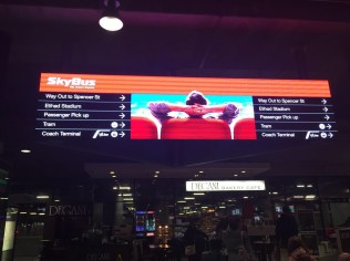 Directions to the Skybus terminal in South Cross Station