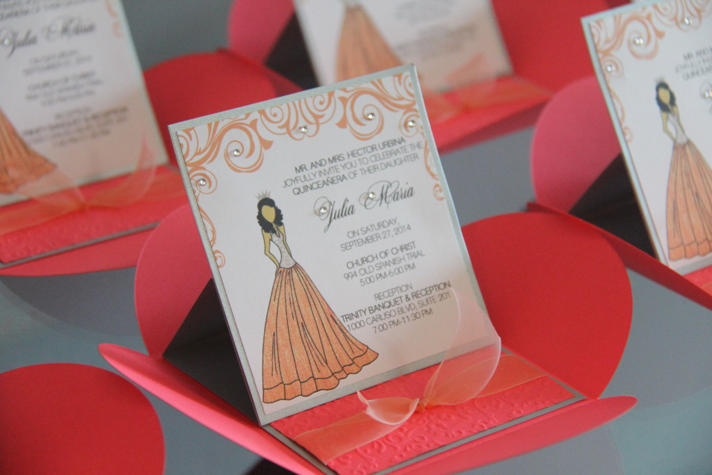 Custom Invitations And Envelopes
