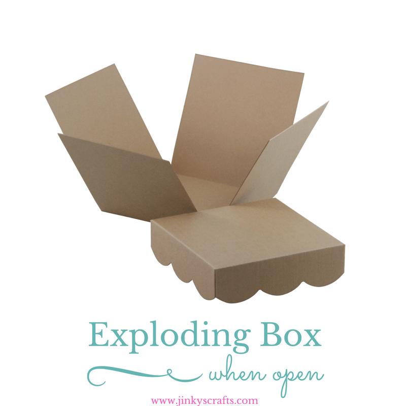 explosion box template