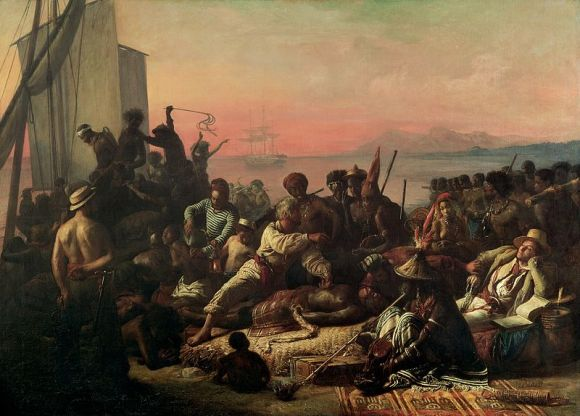 The_Slave_Trade_by_Auguste_Francois_Biard