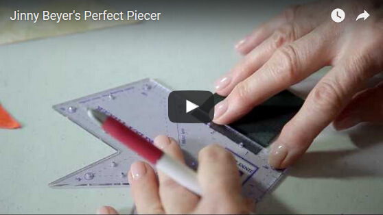 Using the Perfect Piecer to Mark Seam Allowances & Intersections