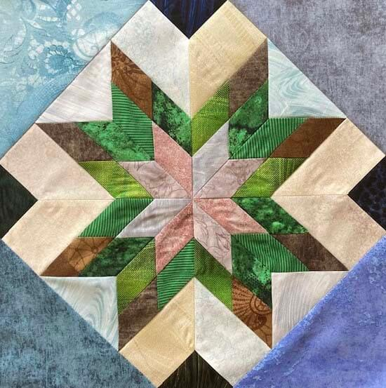 Scrappy Quilts with Traditional Style Blocks