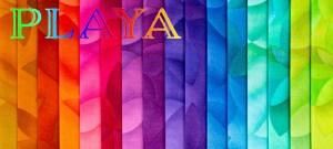 Playa fabrics very colorful background image