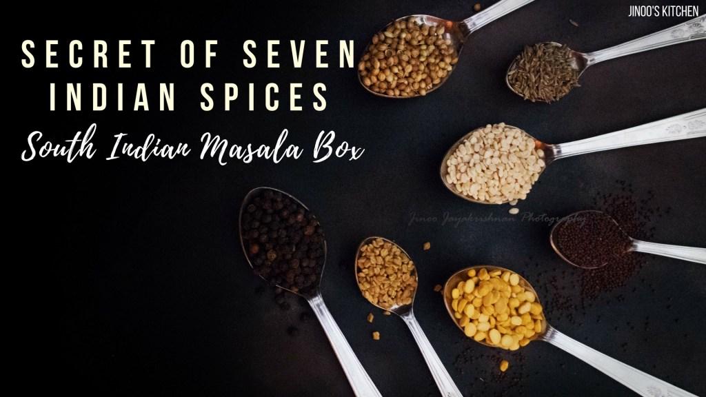 Secret of Seven Indian Spices
