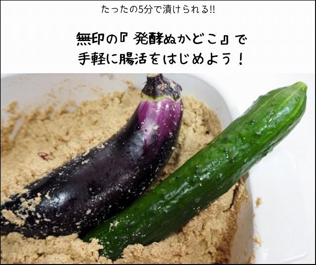 無印の『発酵ぬかどこ』で手軽に腸活をはじめよう