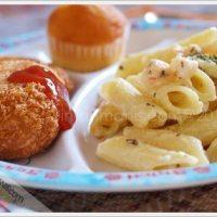 Creamy Shrimp Penne Pasta