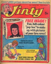 Cover of Jinty issue 3, 25 May 1974