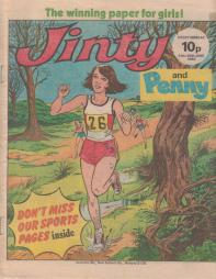 Cover for Jinty and Penny 21-28 June 1980