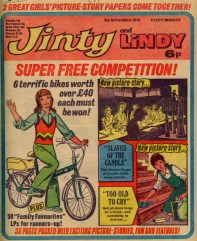 Jinty and Lindy 8 November 1975