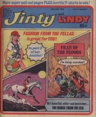 Jinty and Lindy 26 June 1976