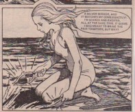 """The big discovery! From """"Combing Her Golden Hair"""", 24 November 1979."""