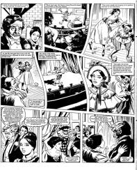 """Punchinello's Dance"". Last Strange Story, Tammy & Jinty 10 July 1982."