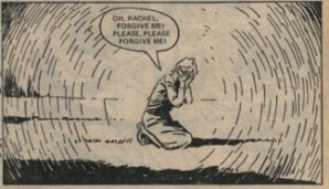 "Clare Harvey's despair. ""Waves of Fear"" part 2, 29 September 1979."