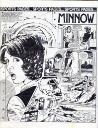 """One very dumb kidnapper. From """"Minnow"""", Jinty 30 August 1980."""