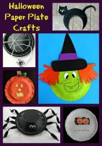 Halloween Paper Plate Crafts - Jinxy Kids