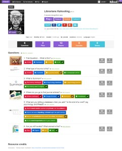 A set of Kahoot quiz questions I created for a CPD session