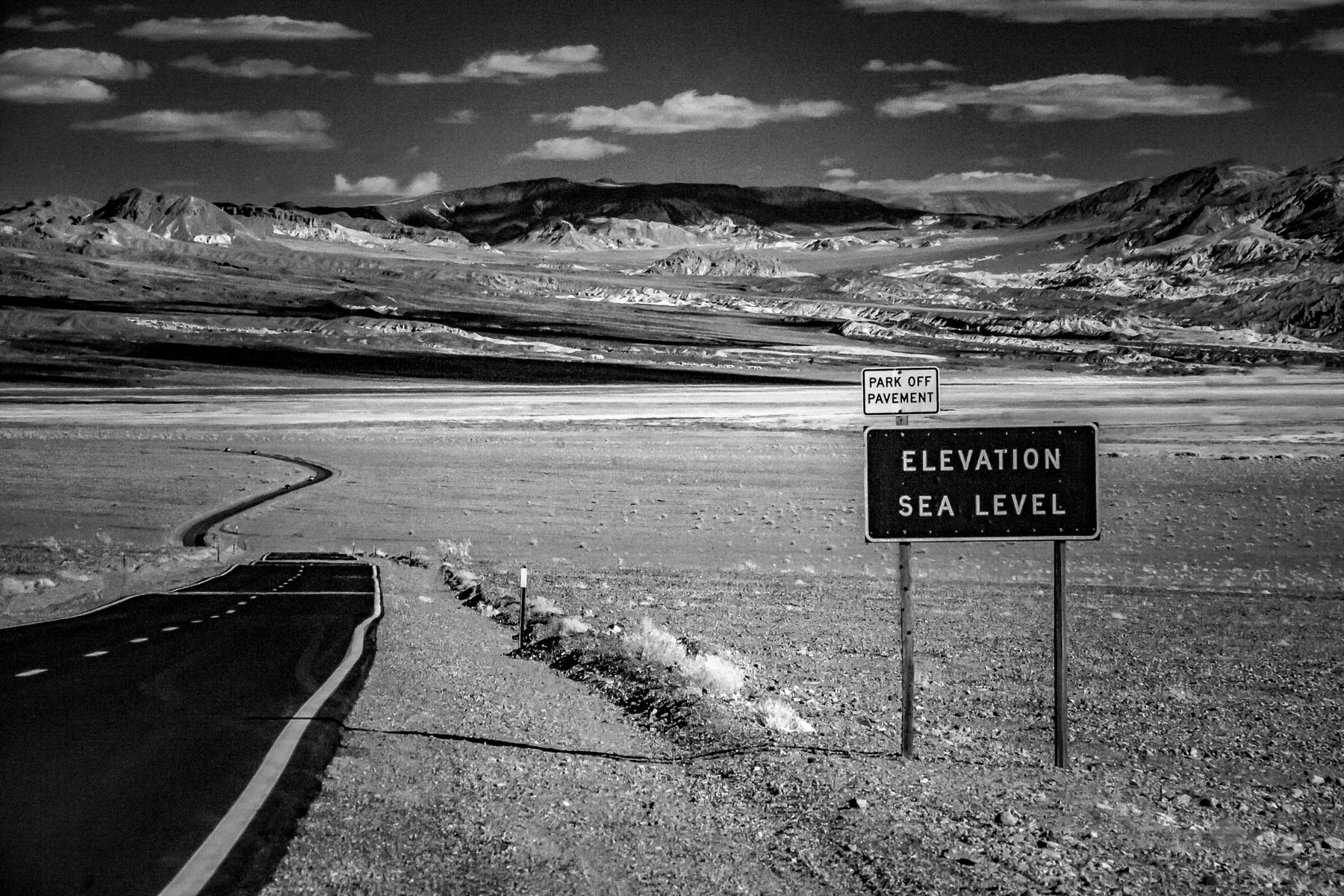 Death Valley Highway ~ by Jim Berger
